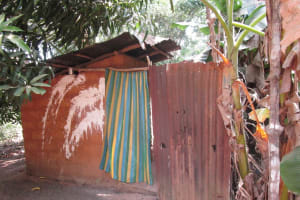 The Water Project: Lokomasama, Bompa, DEC Bompa Primary School -  Latrine And Bathing Shelter