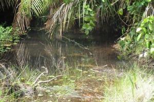 The Water Project: Lokomasama, Bompa, DEC Bompa Primary School -  Main Water Source