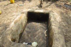 The Water Project: Lokomasama, Bompa, DEC Bompa Primary School -  Plam Oil Processing Pit