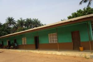 The Water Project: Lokomasama, Bompa, DEC Bompa Primary School -  School Building