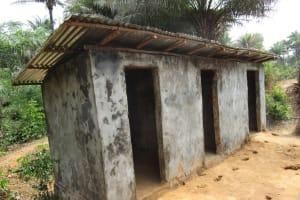 The Water Project: Lokomasama, Bompa, DEC Bompa Primary School -  School Latrine