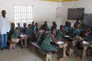 The Water Project: Lokomasama, Bompa, DEC Bompa Primary School -  Students In Class