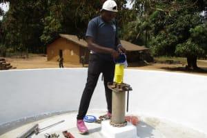 The Water Project: Lungi, Tonkoya Village -  Chlorination