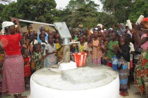 The Water Project: Lungi, Tonkoya Village -  Dedication Ceremony