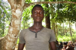 The Water Project: Lungi, Tonkoya Village -  Ibrahim Dumbuya