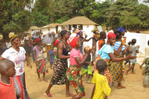 The Water Project: Lungi, Tonkoya Village -  Singing And Dancing