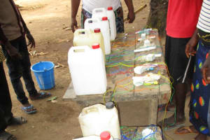 The Water Project: Lungi, Tonkoya Village -  Tippy Tap Making Stations