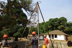 The Water Project: Lungi, Tonkoya Village -  Tripod