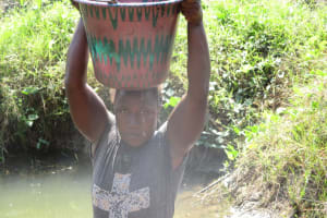 The Water Project: Lungi, Yaliba Village -  Carrying Water