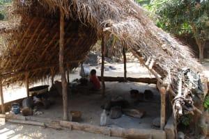 The Water Project: Lungi, Yaliba Village -  Kitchen