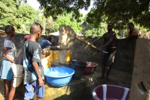 The Water Project: Lungi, Yaliba Village -  Main Water Source
