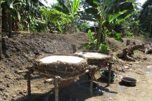 The Water Project: Lungi, Yaliba Village -  Salt Drying