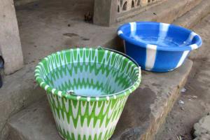 The Water Project: Lungi, Yaliba Village -  Water Storage
