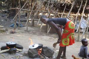 The Water Project: Lungi, Yaliba Village -  Woman Cooking