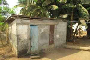 The Water Project: Lungi, Tintafor, St. Lucia Well -  Latrines