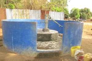 The Water Project: Lungi, Tintafor, St. Lucia Well -  Main Water Source