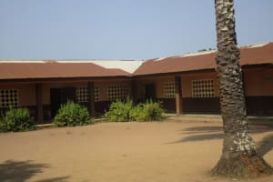 The Water Project: Lungi, Komkanda Memorial Secondary School -  School Compound