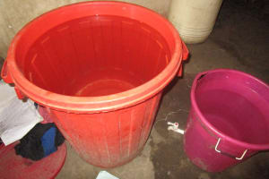 The Water Project: Lungi, Komkanda Memorial Secondary School -  Water Storage
