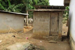 The Water Project: Lungi, 25 Maylie Lane -  Latrine