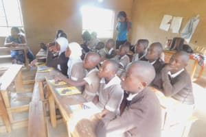 The Water Project: Ichinga Muslim Primary School -  Training Participants