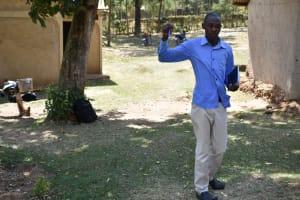The Water Project: Emukoyani Community, Ombalasi Spring -  Trainer Protus