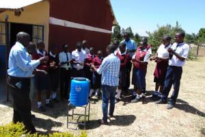 The Water Project: Lwakhupa Mixed Secondary School -  Handwashing Training