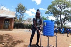 The Water Project: Sango Primary School -  Handwashing Training