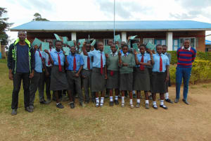 The Water Project: Chebunaywa Secondary School -  Training Group Picture