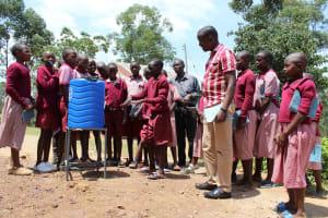 The Water Project: Ivumbu Primary School -  Handwashing