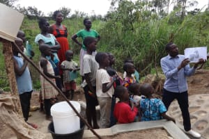 The Water Project: Mukoko Community, Mshimuli Spring -  Spring Care Training