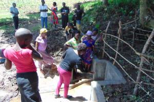 The Water Project: Kambiri Community, Sachita Spring -  Spring Care Training