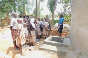 The Water Project: Ichinga Muslim Primary School -  Tank Care Training