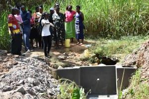 The Water Project: Emukoyani Community, Ombalasi Spring -  Training On Spring Maintenance