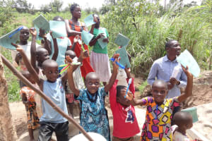 The Water Project: Mukoko Community, Mshimuli Spring -  Training Group Picture