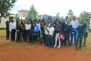 The Water Project: Green Mount Primary School -  Group Picture