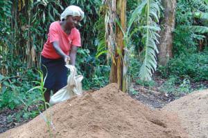 The Water Project: Bukhakunga Community, Mukomari Spring -  Sand Delivery