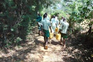 The Water Project: Lwanga Itulubini Primary School -  Path To The Spring