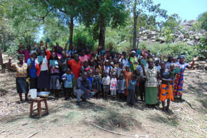 The Water Project: Imbinga Community, Arunga Spring -  Group Picture
