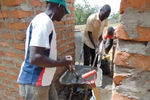 The Water Project: Lwakhupa Mixed Secondary School -  Latrine Construction