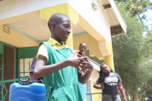 The Water Project: Koitabut Primary School -  Handwashing Training