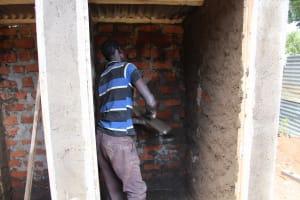 The Water Project: Koitabut Secondary School -  Latrine Construction