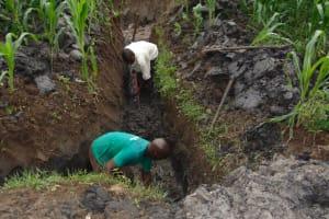 The Water Project: Bukhakunga Community, Mukomari Spring -  Excavation