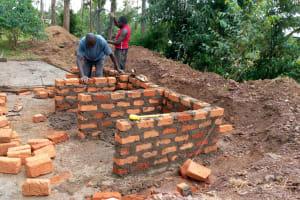 The Water Project: Ivumbu Primary School -  Latrine Construction