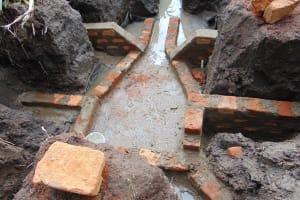 The Water Project: Bukhakunga Community, Mukomari Spring -  Construction
