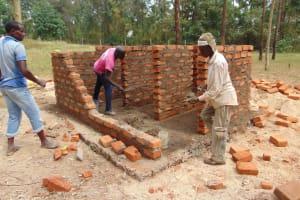 The Water Project: Musango Primary School -  Latrine Construction