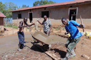 The Water Project:  Tank Construction