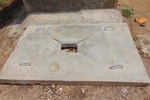 The Water Project: Mukoko Community, Mshimuli Spring -  Finished Sanitation Platform