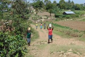 The Water Project: Imbinga Community, Arunga Spring -  Bring Materials