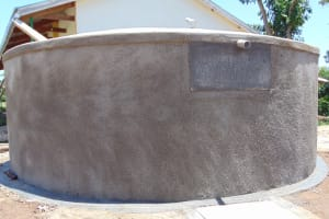 The Water Project: Musango Primary School -  Completed Tank