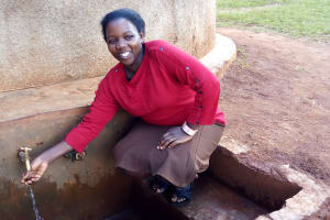 The Water Project: Womulalu Primary School -  Eunice Kanaga